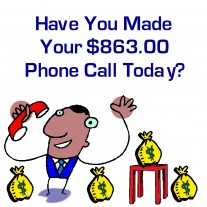 Post image for The $863.00 Phone Call
