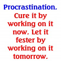 Post image for How To Stop Procrastinating