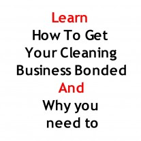 Post image for How to get your cleaning service bonded