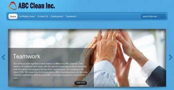 Post image for Cleaning Business Website Package PR01