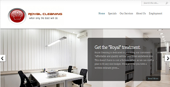 Post image for Cleaning Business Website Package PR02