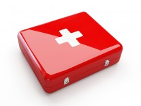 Basic first aid kit for a small business