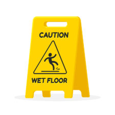 Post image for How to minimize slip and fall claims in the cleaning business